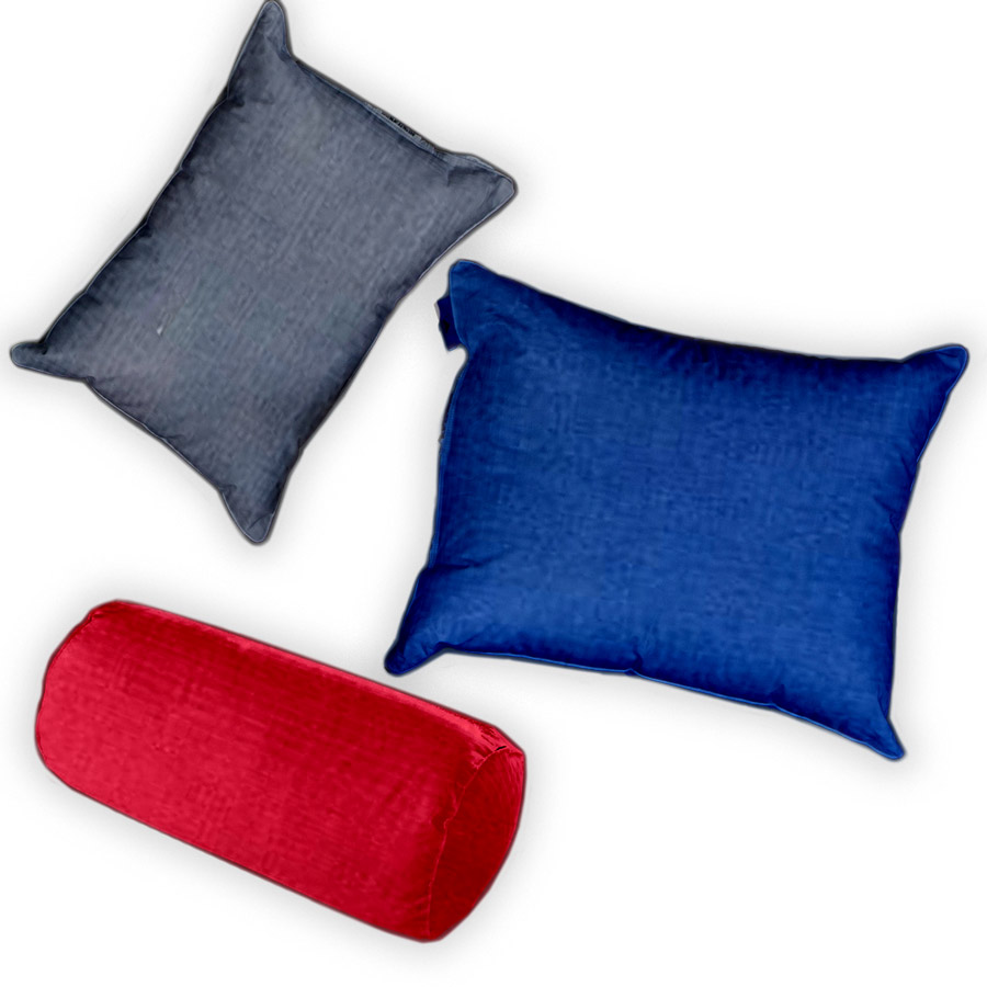 Small Down Pillow's Cases (Solids)