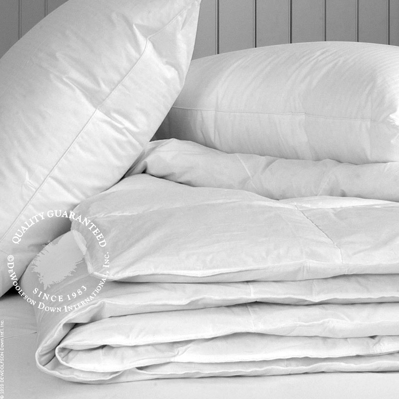 Just the Basics White Goose Down Comforter