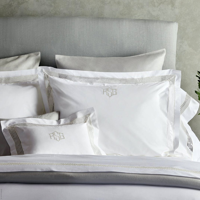 Cecily Percale Bed Linens