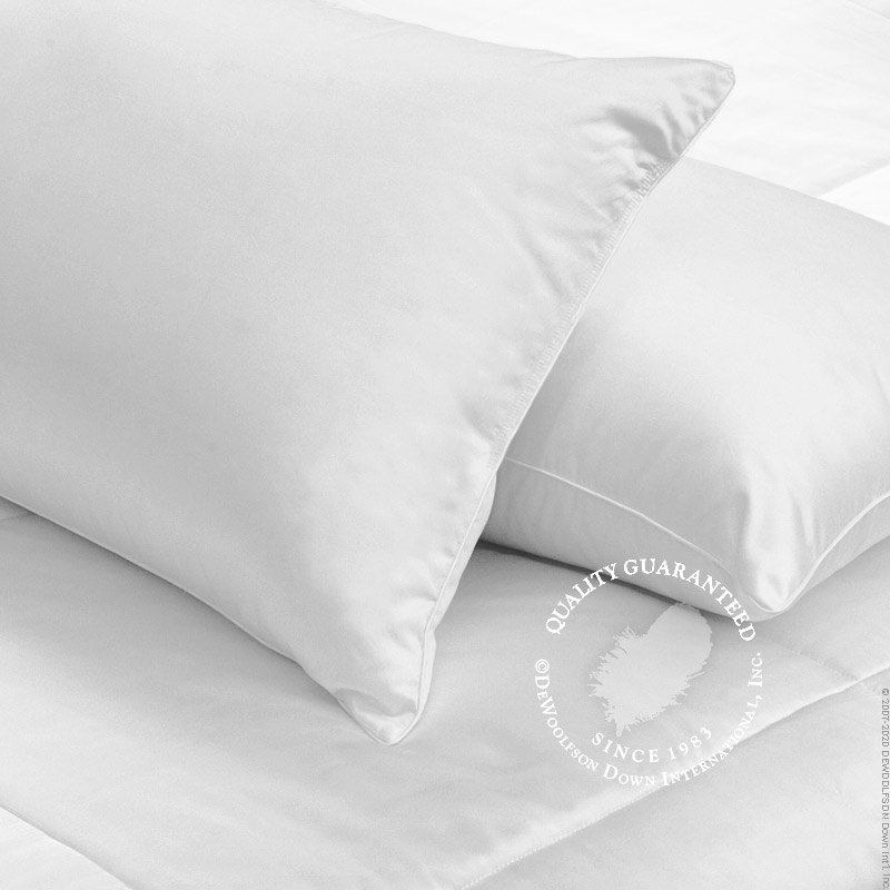 Core Support White Goose Down Pillows