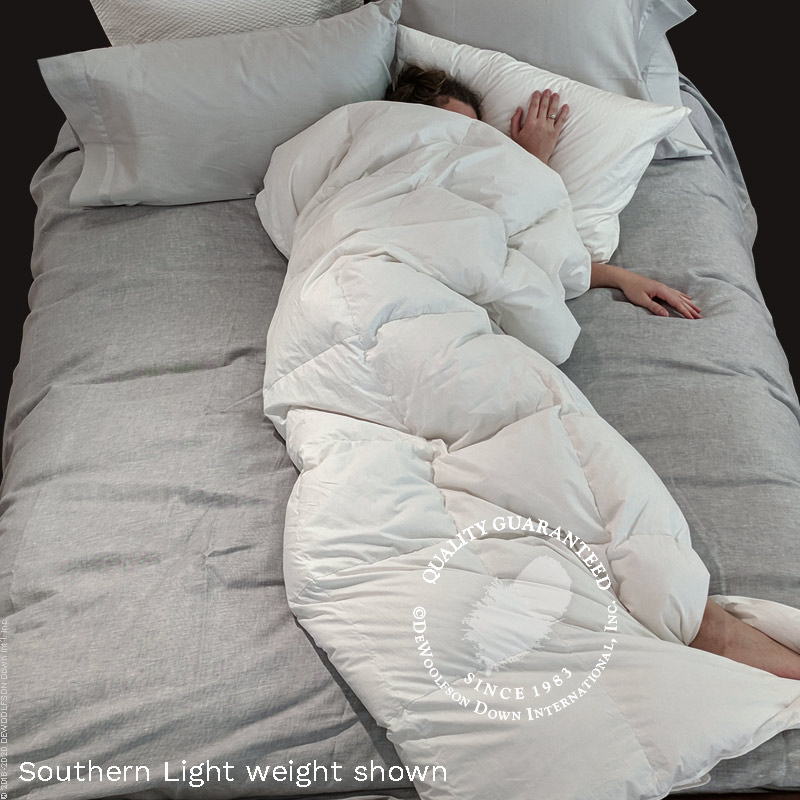 Euro-sized <i>Daunendecke</i> Down Comforter 54 x 78 in.