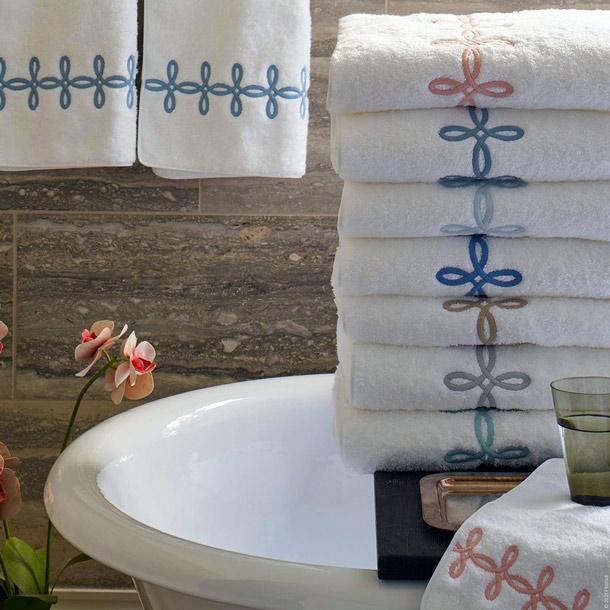 Gordian Knot Towels & Mat