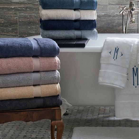 Lotus Towels & Mat