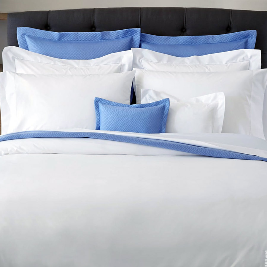 Luca Hemstitch Percale Bed Linens