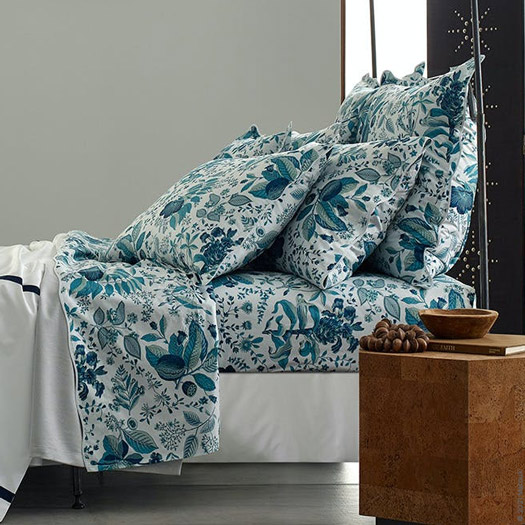 Pomegranate Percale Bed Linens