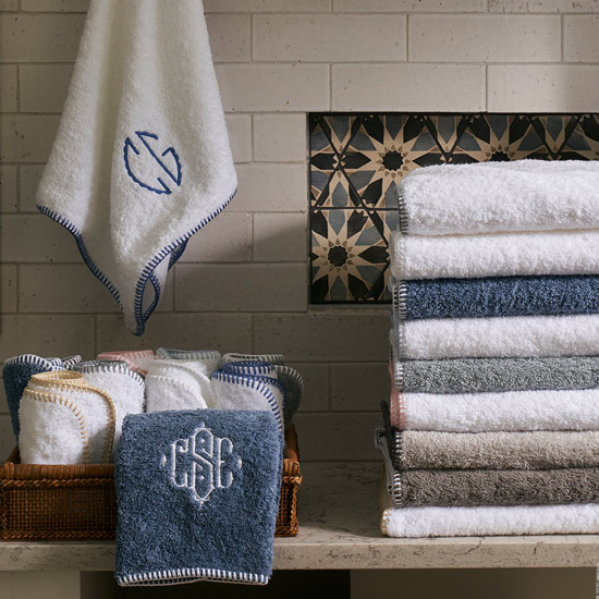 Whipstitch Towels