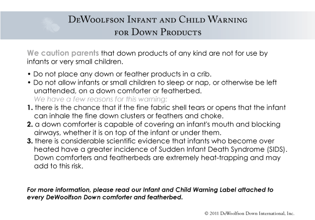 down products warning faq
